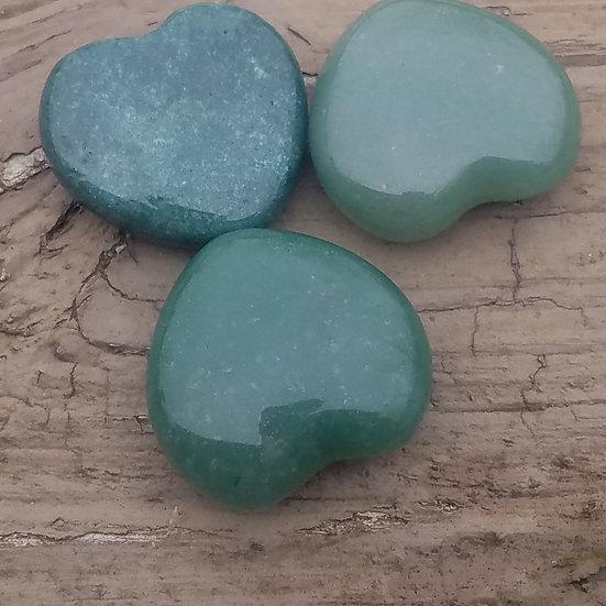 Green Aventurine Heart-Small