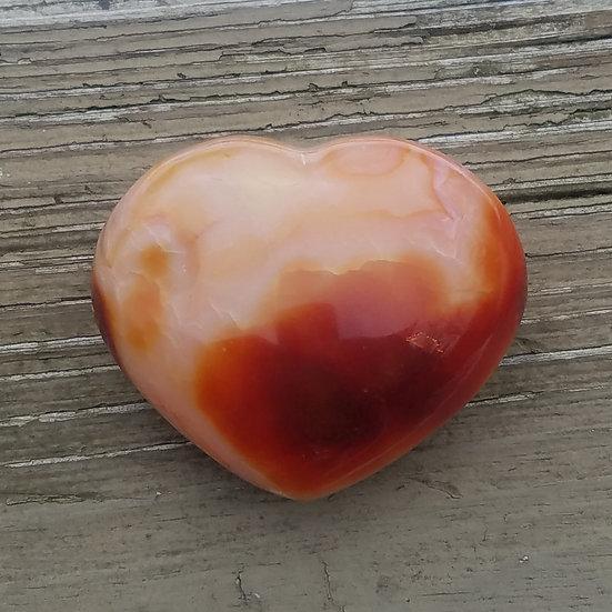 Large Carnelian Heart