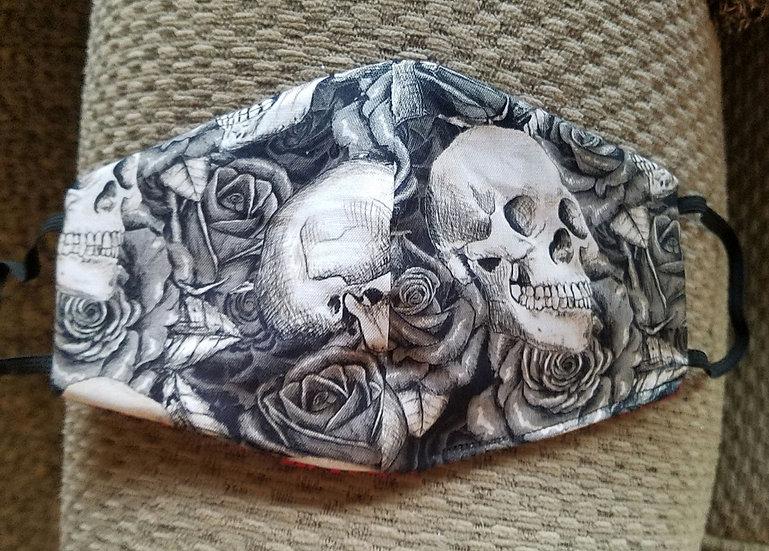 Gothic Skulls Face Mask
