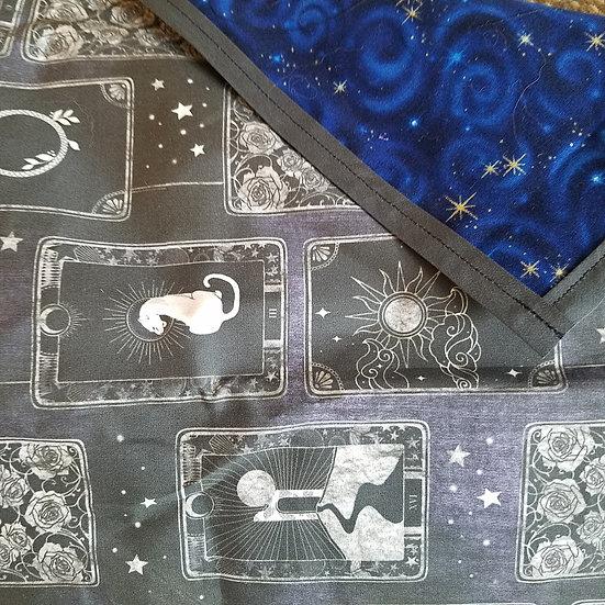 Midnight Tarot Altar Cloth