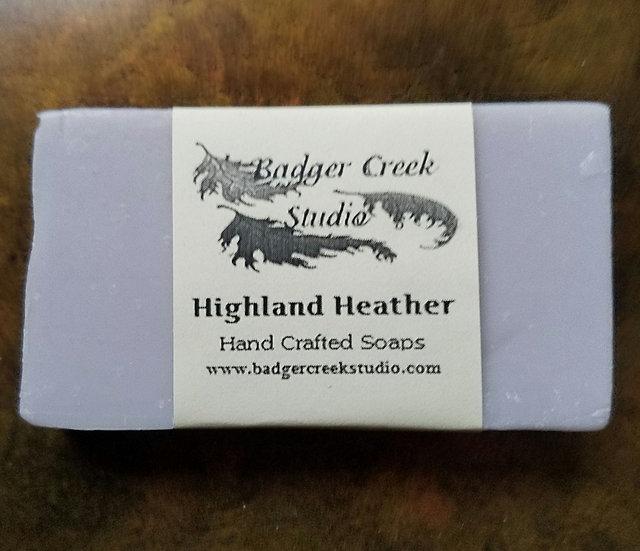 Highland Heather 1/2 Bar Soap