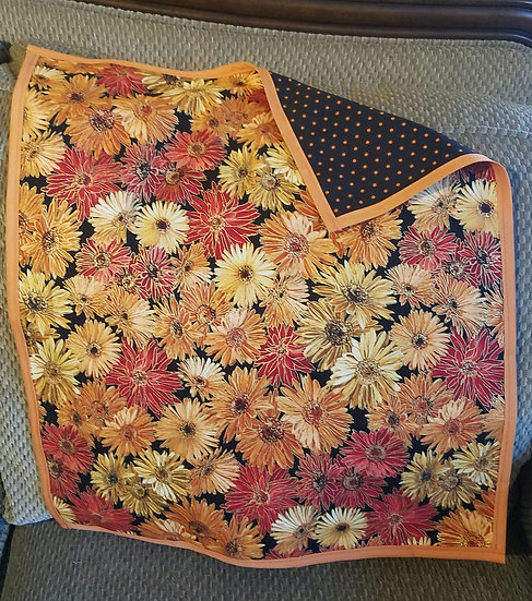 Fall Blooms Reversible Altar Cloth-Medium