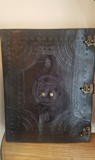 Enormous 14x18 Cat Book of Shadows Journal