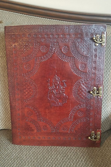 Ganesh Massive 14x18 Leather Journal