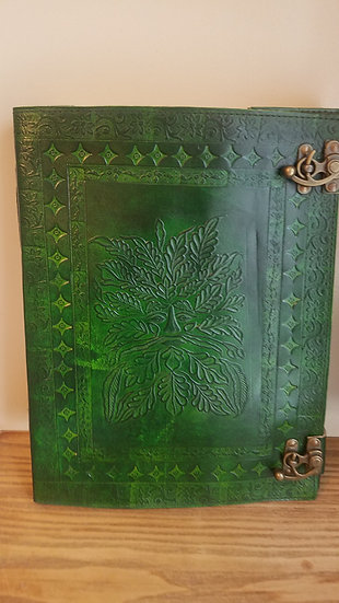 Massive 10x13 Greenman Book of Shadows Journal