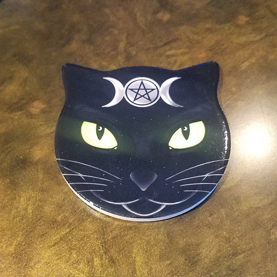 Goddess Cat Coaster-SINGLE