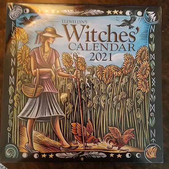 Llewellyn 2021 Witches Calendar