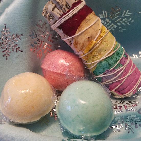 Chakra Bomb Gift Set