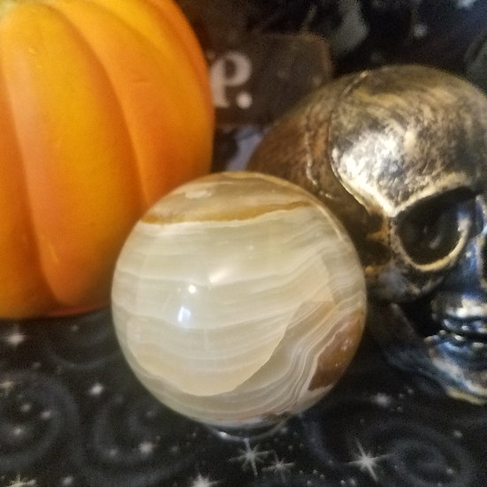 Green Onyx Sphere- Large