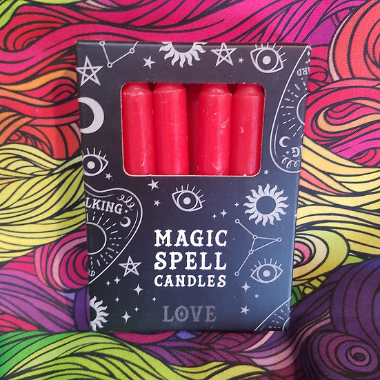 Love 12pk Candles