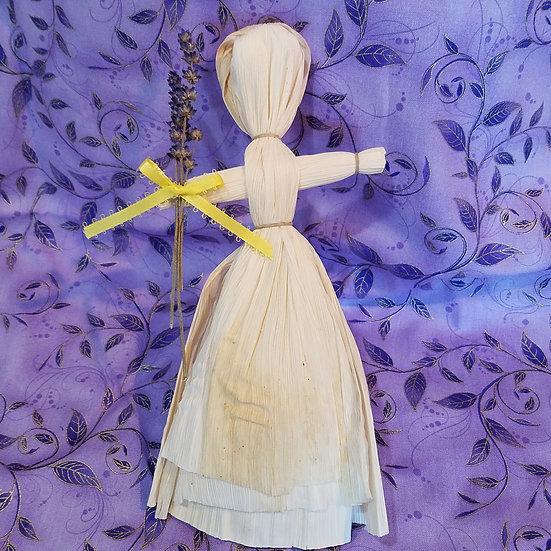 Lavender Maiden Corn Dolly