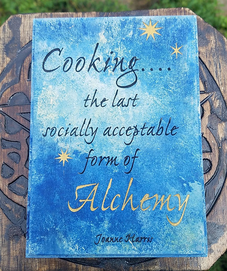 Alchemy Cooking Plaque