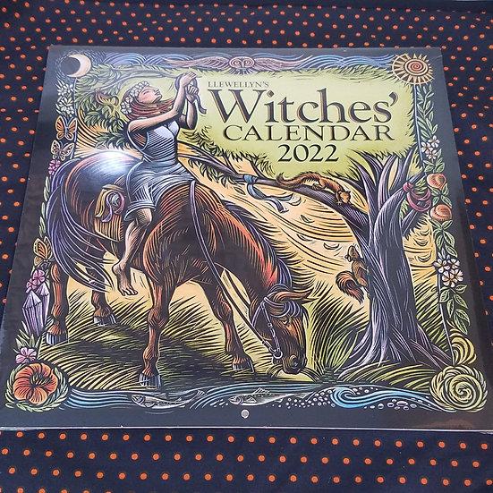 Llewellyn 2022 Witches Calendar