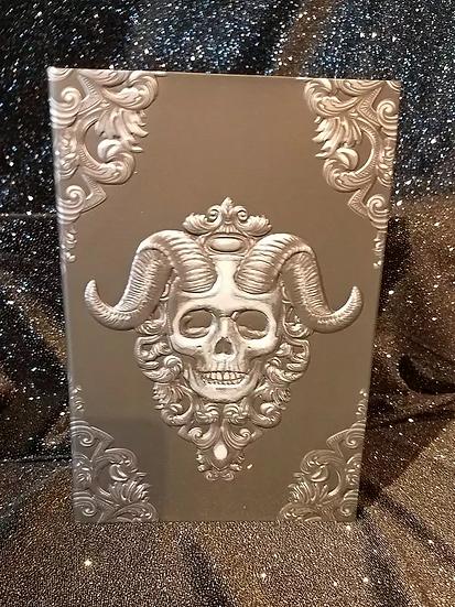 Embossed Skull Journal