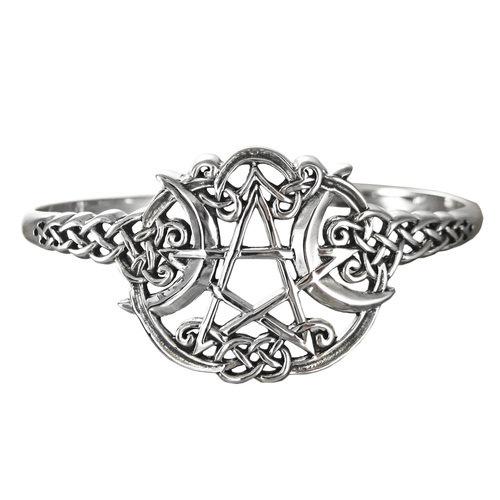 Solid .925 Silver Spellfire Witch Bracelet