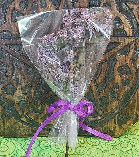 Lilac Herb Pop for Cauldon Burning