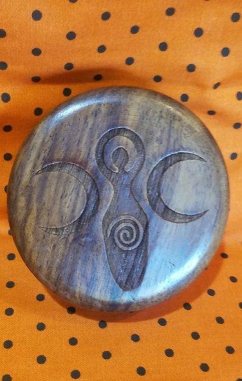 Wooden Goddess Herb Grinder