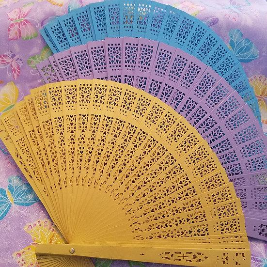 Bamboo Spring Fan Set