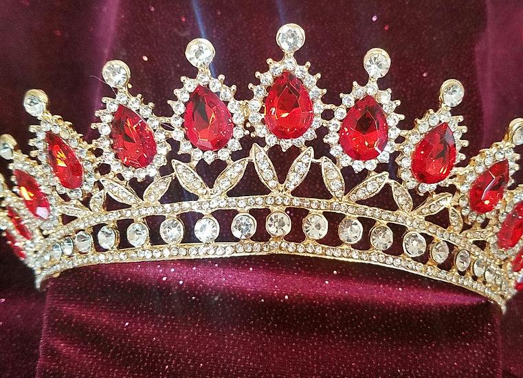 Scarlet Queen Tiara