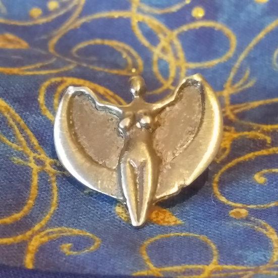 Take Flight Goddess Pin