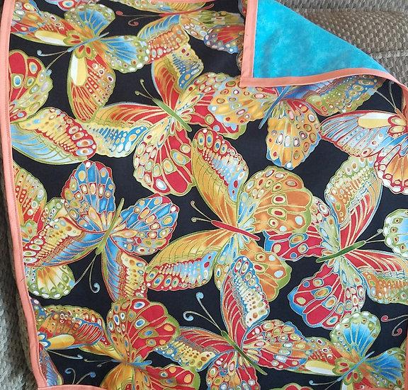 Foil Butterfly Altar Cloth