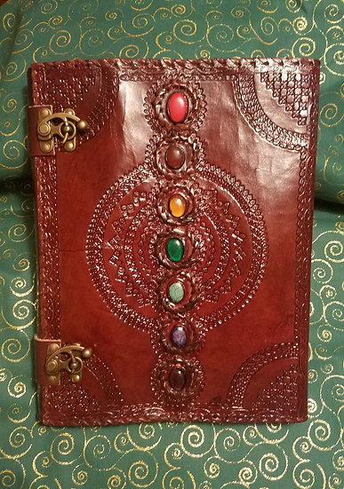 Huge 10x13 Chakra Book of Shadows