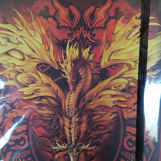 Foil Embossed Dragon Journal