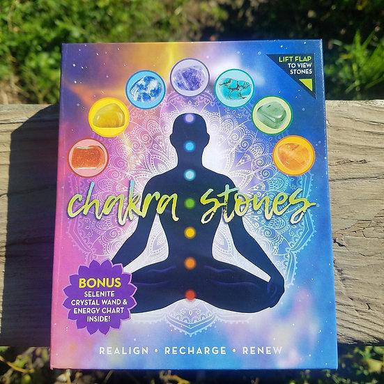 Chakra Stone Crystal Pack