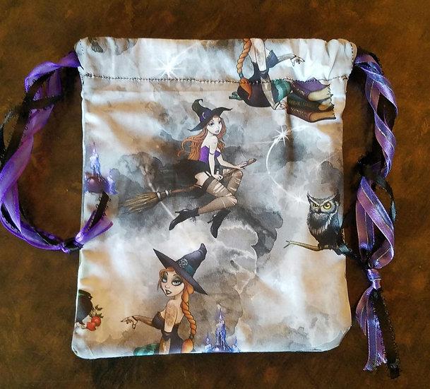 London Witches Tarot Dice Bag