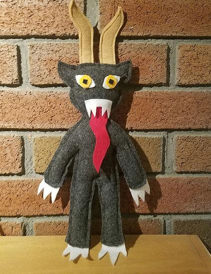 K9 Krampus Doll Gray