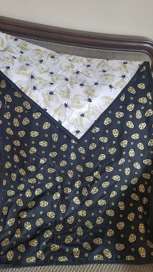 Skull/Spider Reversible Altar Cloth-Large