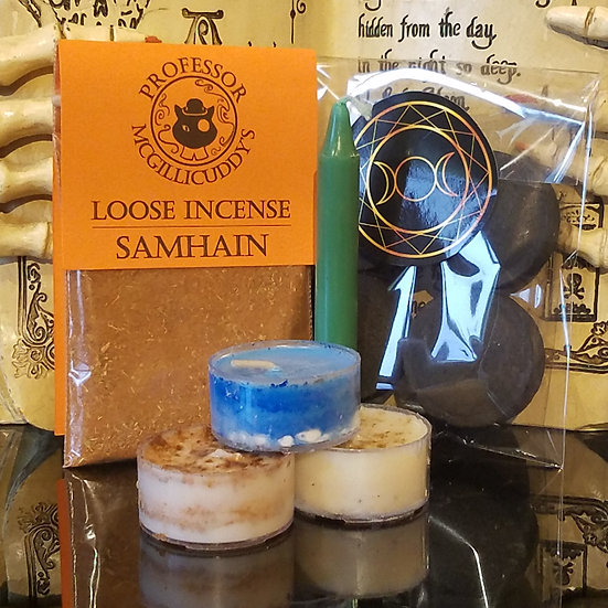 Samhain Incense/Candle Pack.