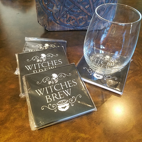 Witches Brew Coasters Set of 4