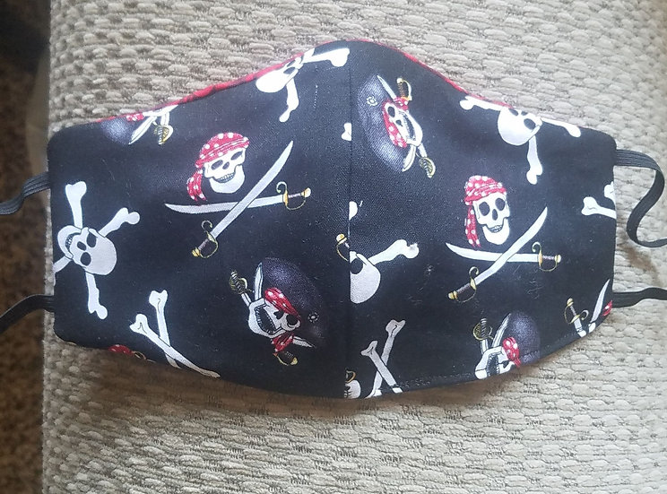 Jolly Roger Pirate Mask