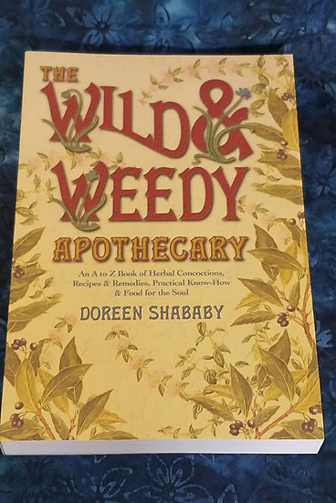 Wild &Weedy Apothecary Book