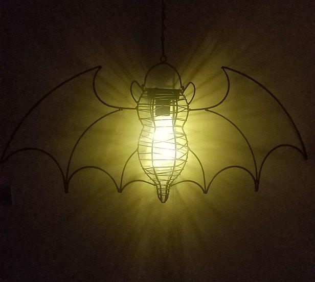 Solar Indoor/Outdoor Bat Lantern
