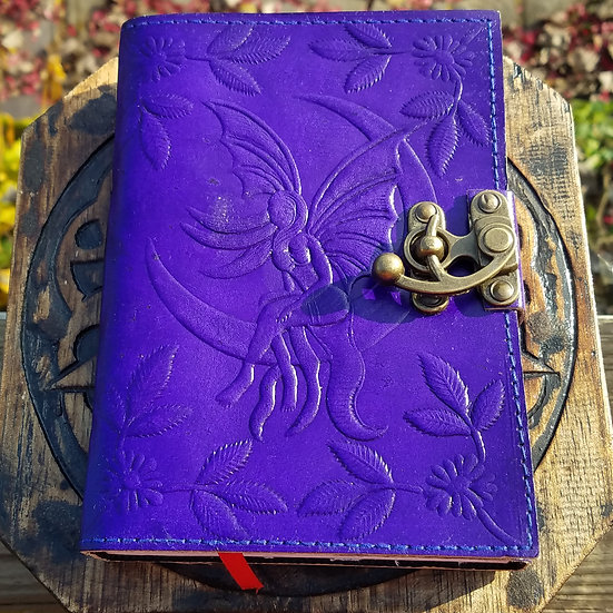 Purple Fairy Book of Shadow Journal