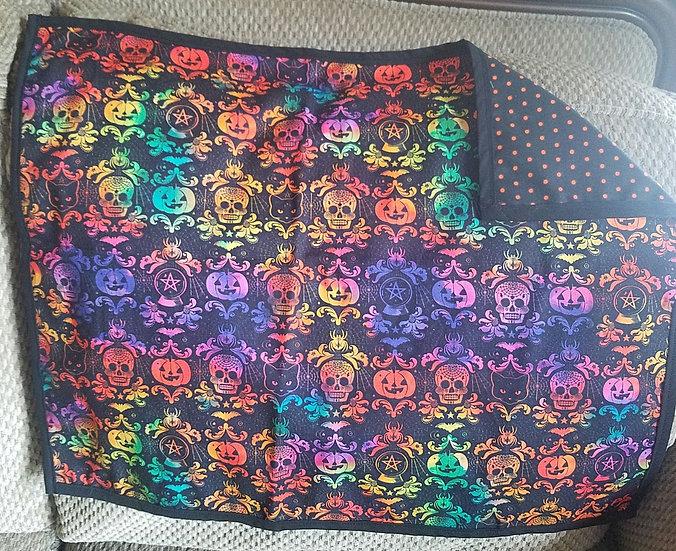 Rainbow Scroll Altar/Tarot Cloth