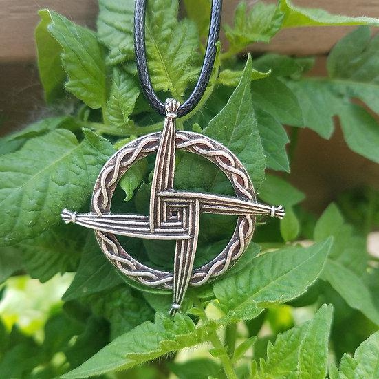 Brigid Cross Necklace