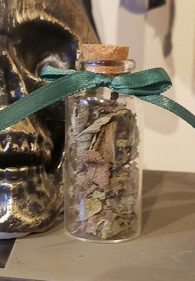 Green Sage Herb Bottle-Small
