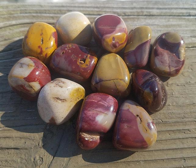 Mookaite Tumble Stones Med/Lrg