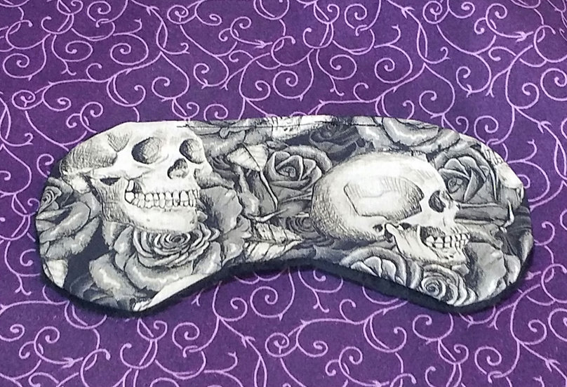 Gothic Skulls Sleep Mask