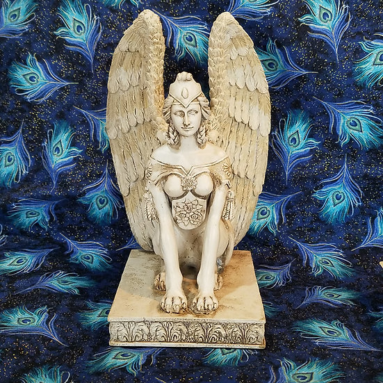 Riddle Sphinx Statue
