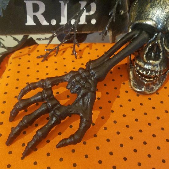 Cast Iron Skeleton Bottle Opener