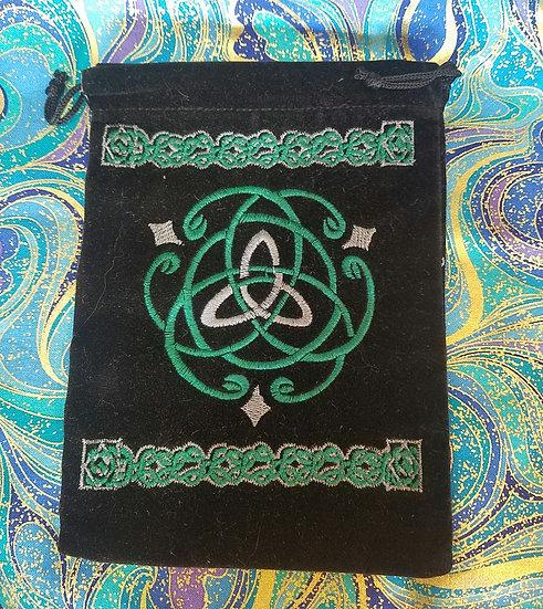 Embroidered Celtic Bag