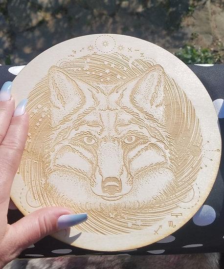 Wolf Crystal Grid