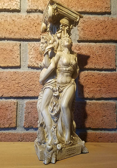 Maiden, Mother & Crone Statue