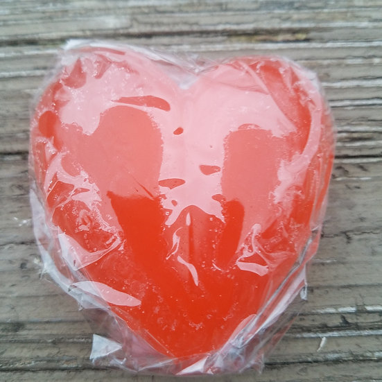 Red Heart Shampoo Bar
