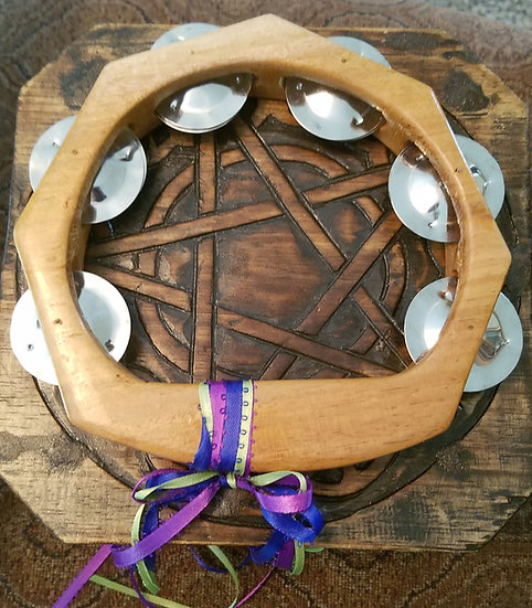 Festival Hand Tambourine