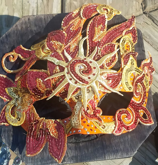 Beltane Flame Mask